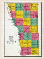 Wilkin County Outline Map, Wilkin County 1915